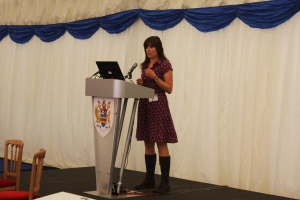 Speaking at the MMO Conference, 2011