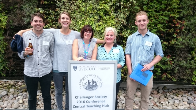 The Plankton and Policy Group at Challenger 2016