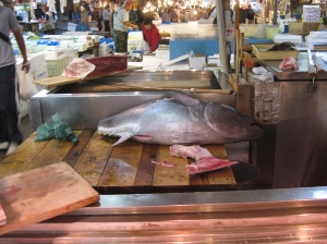 Bluefin at Tsukiji